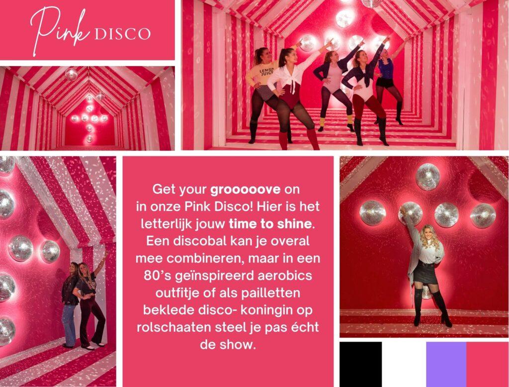 likeland inspiratie instagram museum decor pink disco
