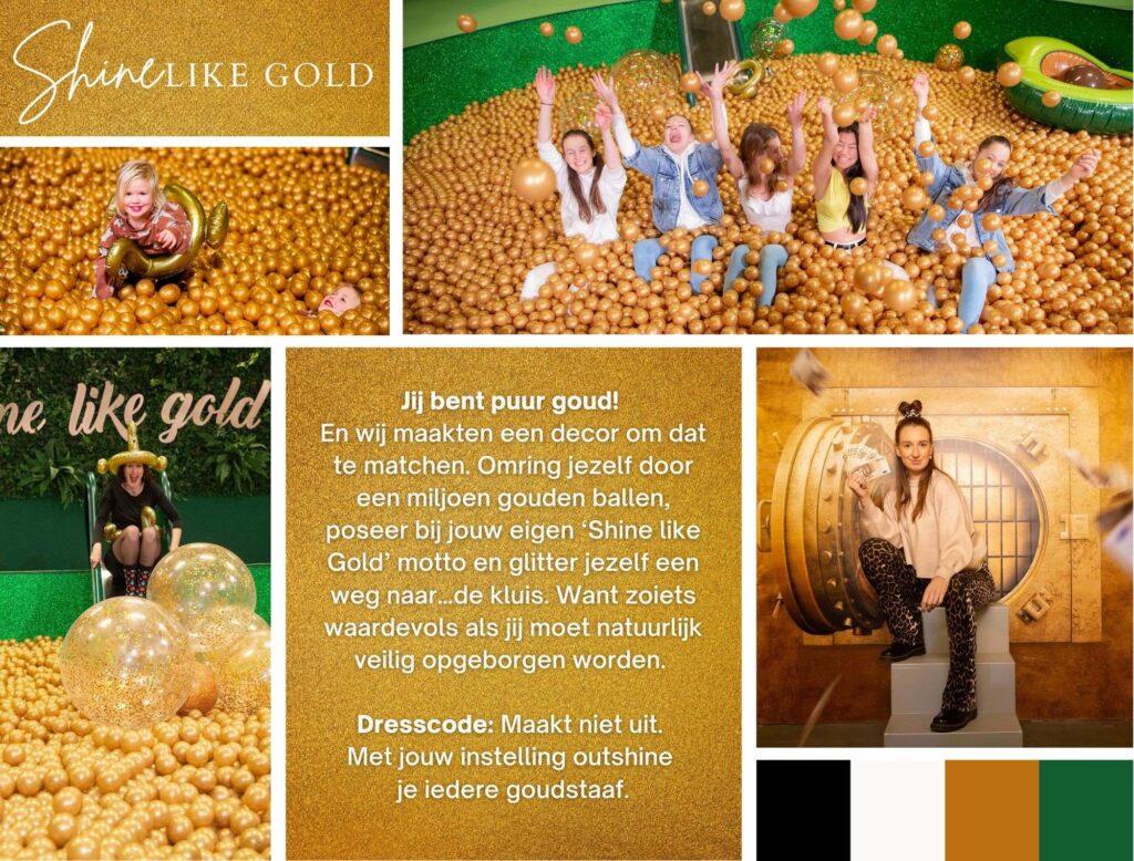 Likeland Shine Like Gold insta decor