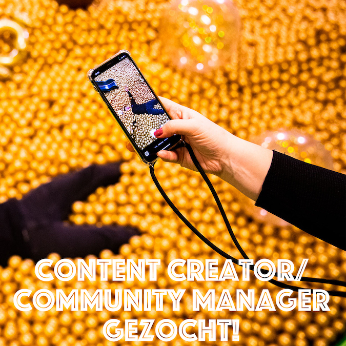 vacature content creator community manager First Vision